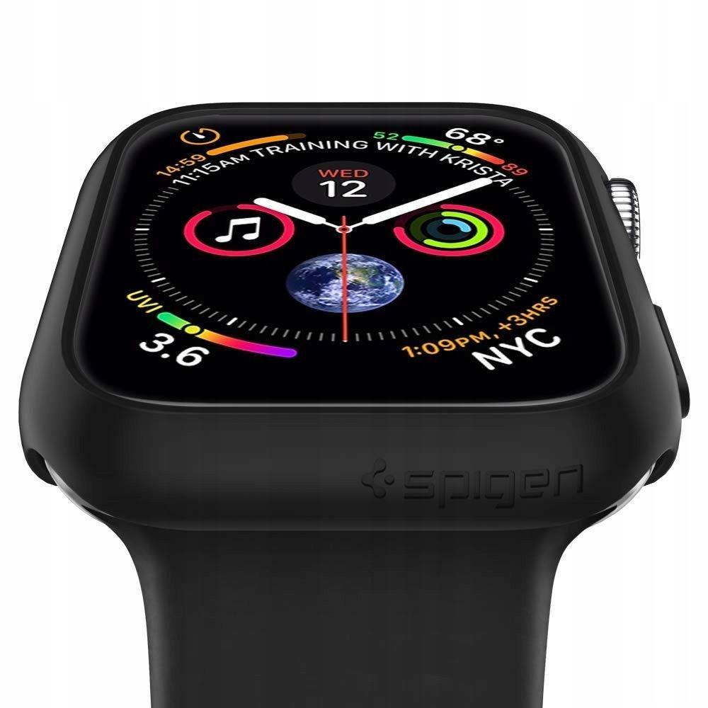 new concept 48105 90bfe SPIGEN THIN FIT APPLE WATCH 4 (40MM) BLACK