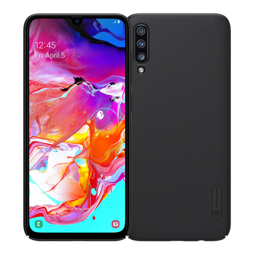 Nillkin Super Frosted Shield Case + kickstand for Samsung Galaxy A70 black