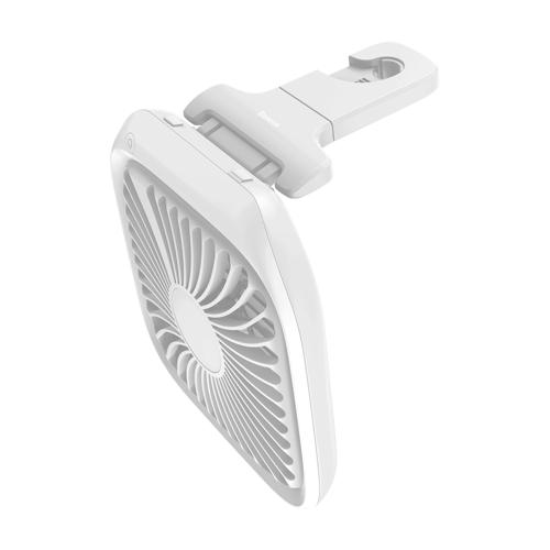 Baseus Auto Ventilator - Kopfstütze, Hinterer Sitz-Luft-Ventilator weiss (CXZD-02)