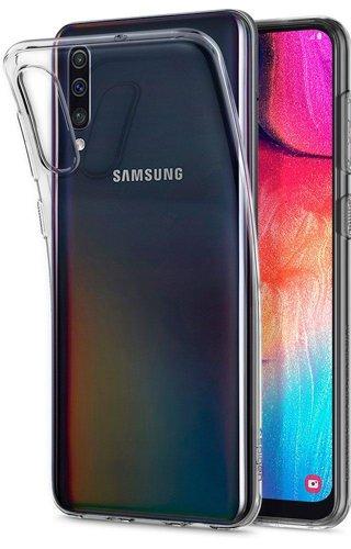 Etui Spigen Liquid Crystal Galaxy A50 Crystal Clear