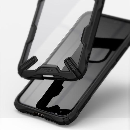 Ringke Fusion X etui pancerny pokrowiec z ramką iPhone 11 Pro czarny (FUAP0013)